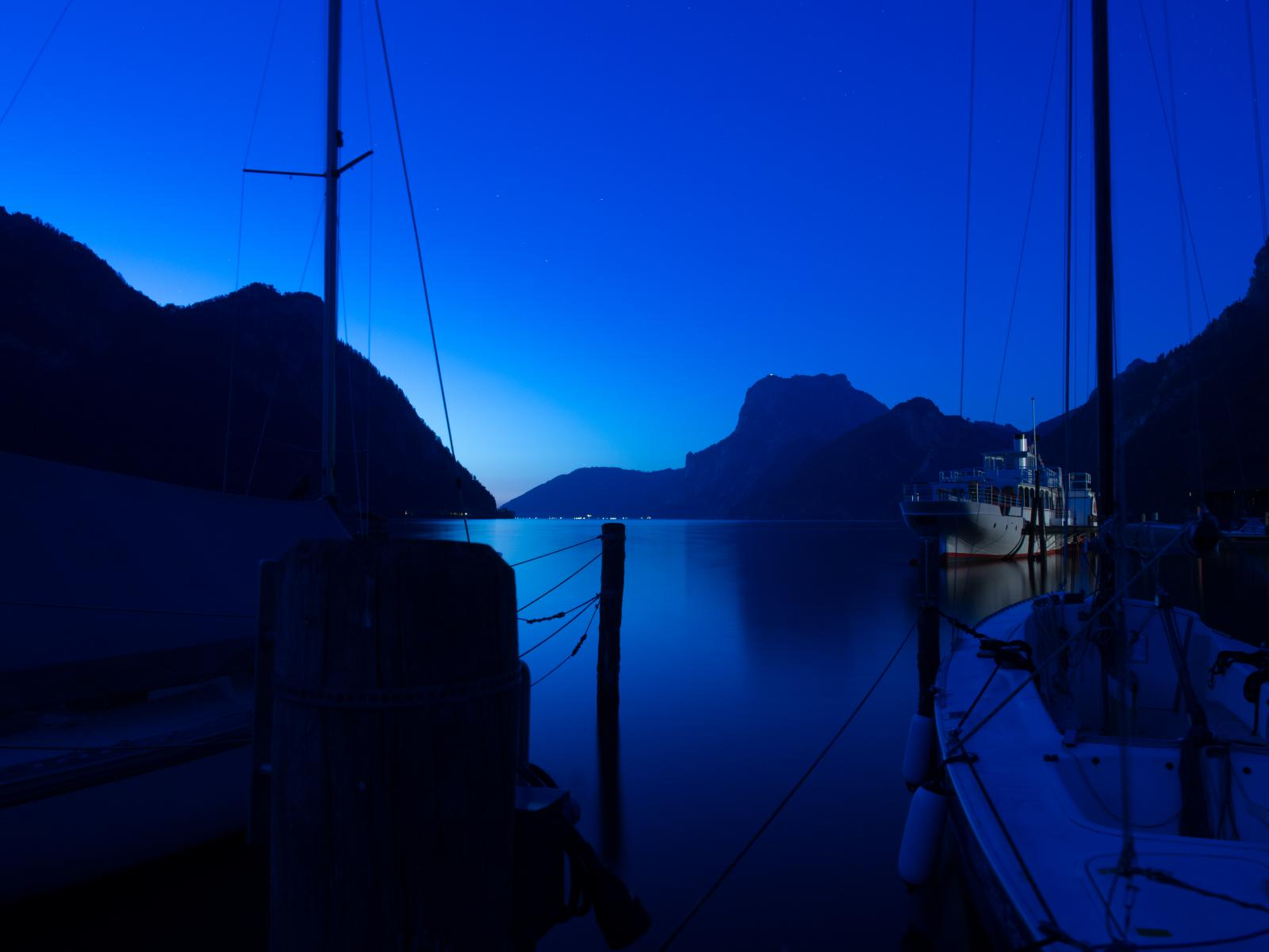 Sommerabend am Traunsee