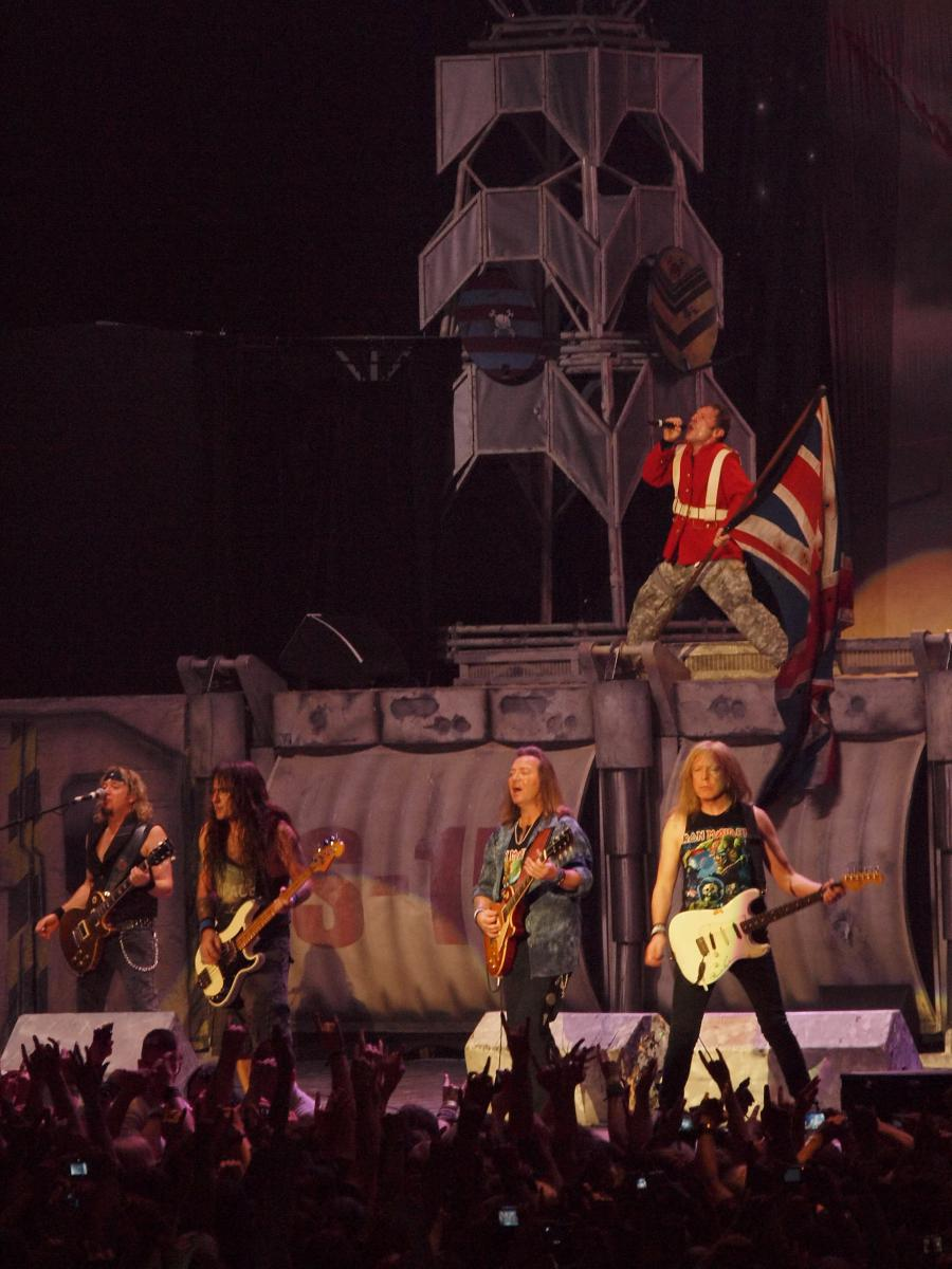 "Iron Maiden bei ""The Trooper"" in Oberhausen"