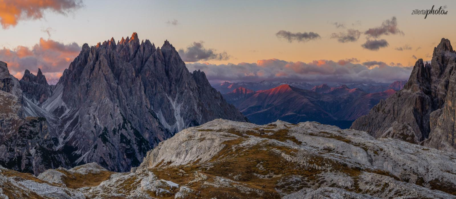 Unterwegs in den Sextener Dolomiten