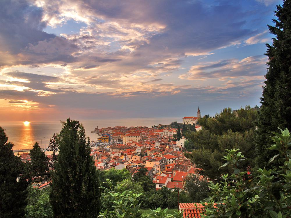 Piran Sunset