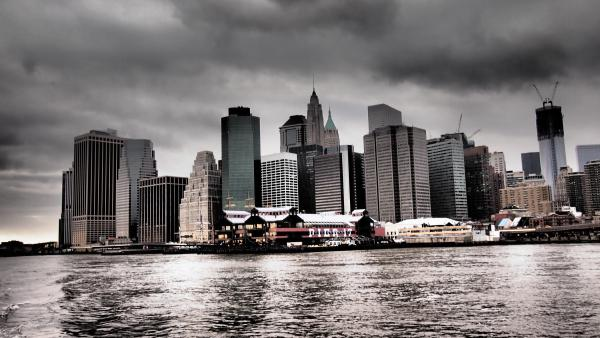 Downtown vom East River