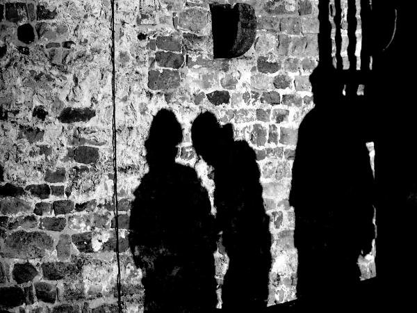 Shadow on the wall.........