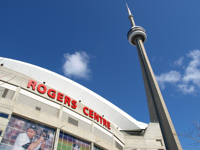 CN Tower, Rogers Centre