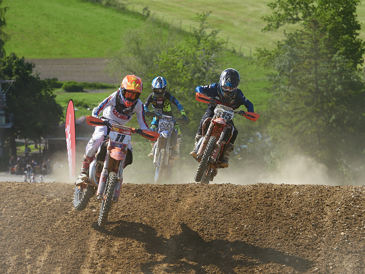 MotoCross in Möggers